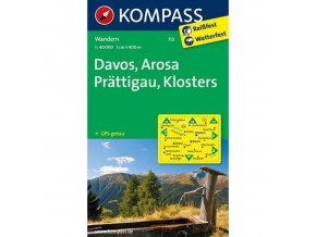 Davos, Arosa, Prattigau (Kompass - 113)