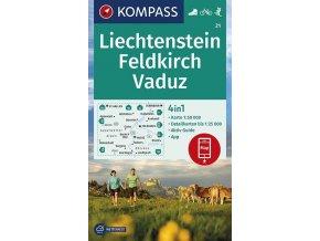 Feldkirch, Vaduz (Kompass - 21)