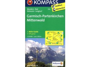 Garmisch - Partenkirchen, Mittenwald (Kompass - 790)