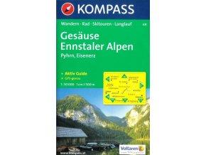 Gesäuse, Ennstaler Alpen, Pyhrn, Eisenerz (Kompass - 69)