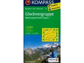 Glocknergruppe, Nationalpark Hohe Tauern (Kompass - 39)