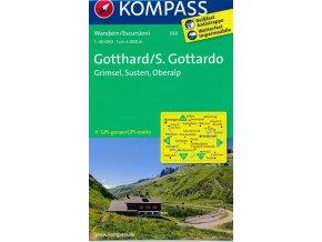 Gotthard, Grimsel, Susten, Furka, Oberalp (Kompass - 108)