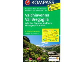 Chiavenna, Val Bregaglia (Kompass - 92)