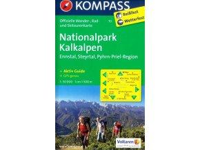 Nationalpark Kalkalpen, Ennstal, Steyrtal (Kompass – 70)