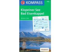 Klopeiner See, Bad Eisenkappel (Kompass - 065)