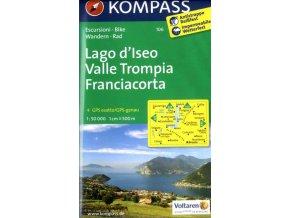 Lago di Iseo, Franciacorta (Kompass - 106)