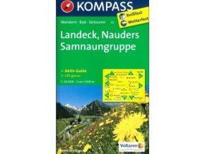 Landeck, Nauders, Samnaungruppe (Kompass - 42)