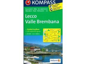 Lecco, Valle Brembana (Kompass - 105)