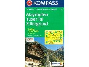 Mayrhofen, Tuxer Tal, Zillergrund (Kompass - 037)