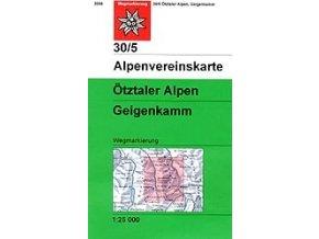 Ötztaler Alpen, Geigenkamm (letní) – AV30/5