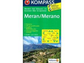 Meran, Merano (Kompass - 053)