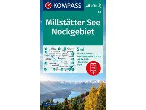 Millstätter See, Nockgebiet (Kompass - 63)