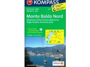 Monte Baldo, sever (Kompass - 691)