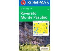 Rovereto, Monte Pasubio (Kompass - 101)