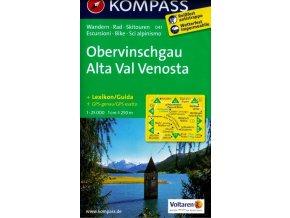Obervinschgau, Alta Val Venosta (Kompass - 041)