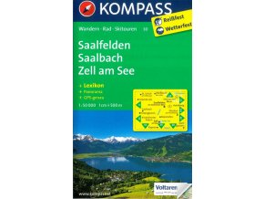 Saalfelden, Saalbach, Hinterglemm, Zell am See (Kompass - 30)