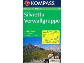 Silvretta, Verwallgruppe (Kompass - 41)