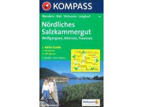 Solná komora sever, Wolfgangsee, Attersee, Traunsee (Kompass -18)
