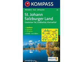 St Johann, Salzburger Land (Kompass - 80)