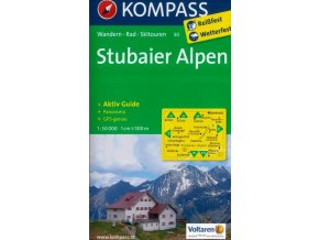 Stubaiské Alpy (Kompass - 83)