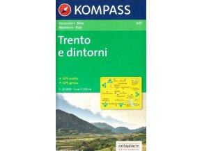Trento a okolí (Kompass - 647)