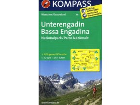 Unterengadin, Bassa Engadina (Kompass - 98)
