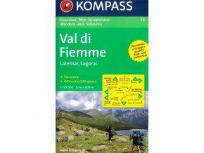 Val di Fiemme, Latemar, Lagorai (Kompass - 79)