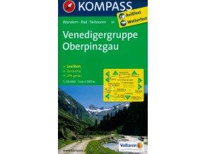 Venedigergruppe, Oberpinzgau (Kompass - 38)