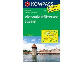 Vierwaldstatter See, Luzern (Kompass - 116)
