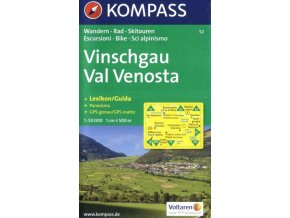 Vinschgau, Val Venosta (Kompass - 52)
