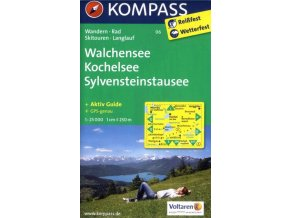 Walchensee, Kochelsee, Sylvenstein-Stausee (Kompass - 06)