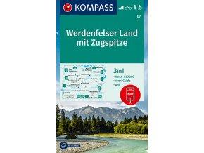 Werdenfelser Land mit Zugspitze (Kompass - 07)