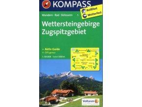 Wettersteingebirge, Zugspitzgebiet (Kompass - 5)