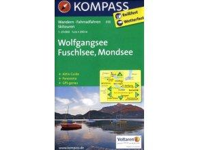 Wolfgangsee, Fuschlsee, Mondsee (Kompass - 018)