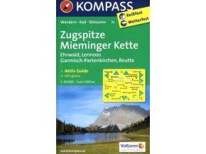Zugspitze, Mieminger Kette (Kompass - 25)