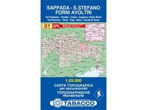 Sappada, S. Stefano, Forni Avoltri (Tabacco - 01)