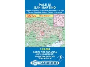 Pale di San Martino (Tabacco - 022)