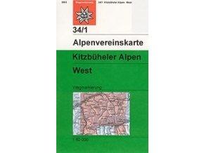 Kitzbüheler Alpen West (letní) – AV34/1