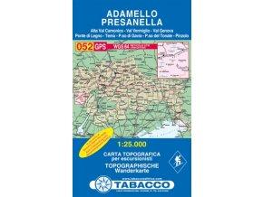 Adamello, Presanella (Tabacco - 052)