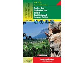 Faaker See, Ossiacher See, Villach, Dreilandereck, Unteres Gailtal (WK224)
