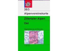 Zillertaler Alpen Ost (letní + zimní) – AV35/3