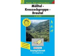 Mölltal, Kreuzeckgruppe, Drautal (WK225)