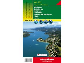 Wörther See, Ossiacher See, Gerlitzen, Faaker See, Karawanken (WK233)