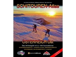 Schitouren Atlas Österreich Ost -  skialpinistický průvodce  východním Rakouskem