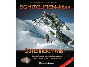 Schitouren Atlas Österreich West – skialpinistický průvodce  západním Rakouskem
