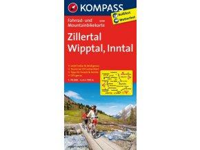 Zillertal, Wipptal, Inntal (cyklomapa č. 3308)