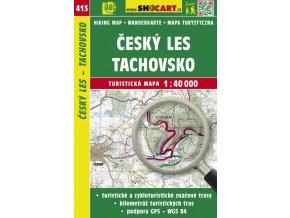 Český les, Tachovsko - turistická mapa č. 413