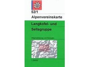 Langkofel, Sellagruppe (letní + zimní) – AV52/1