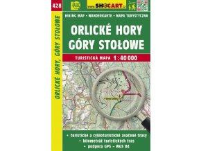 Orlické hory, Góry Stolowe - turistická mapa č. 428