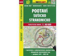 Pootaví - Sušicko, Strakonicko - turistická mapa č. 433